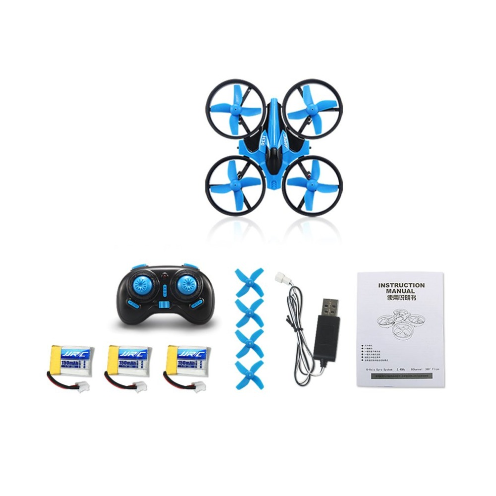 JJR/C H36 2.4GHz 4CH 6-Axis Gyro 3D Flip RTF Aerocraft Portable Mini Drone RC Quadcopter With Headless Mode