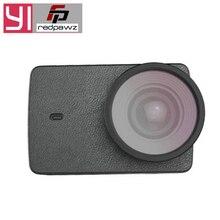 YI Защитный Объектив + кожаный чехол для YI Экшн-камера 4 K/YI 4k Plus экшн-Камера спортивная экшн-камера аксессуары