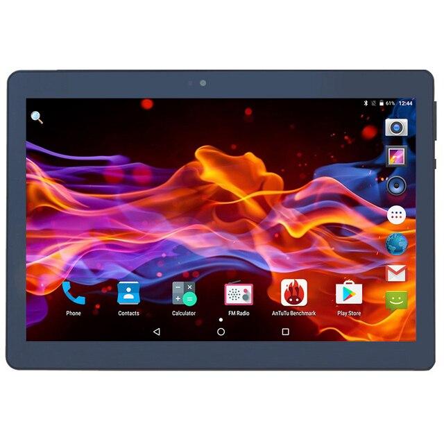 Разблокировать 4 г FDD LTE Планшеты 10 дюймов Octa core android 7.0 Dual Камера SIM fm GPS Bluetooth Phablet 4 ГБ Оперативная память 32 ГБ Встроенная память планшет 10.1