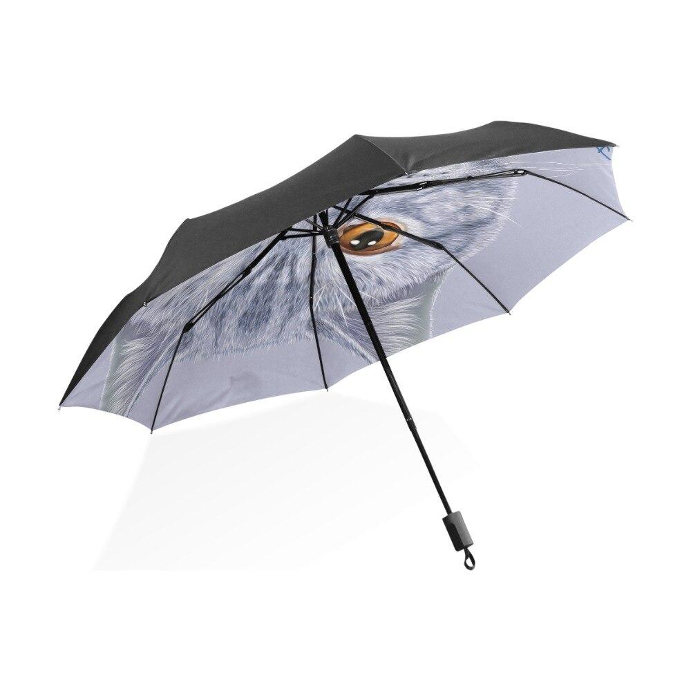 Custom Oklahoma State Flag Compact Foldable Rainproof Windproof Travel Umbrella