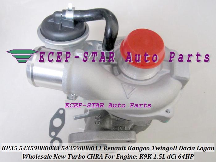 Free Ship KP35 11 33 54359880011 54359700011 54359880033 54359700033 Turbo For Renault Kangoo Twingo Dacia Logan