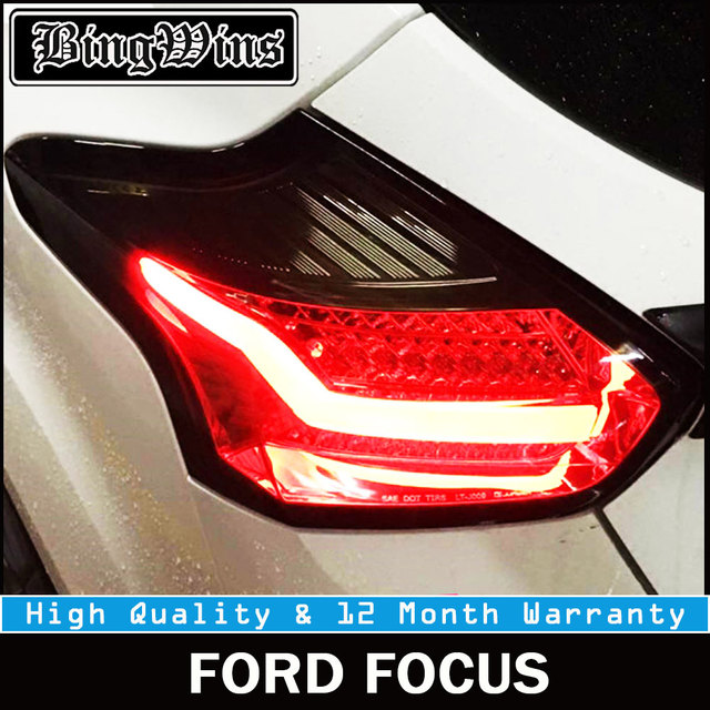 Car Stlying Tail Lights For Ford Focus 2 Taillights 2017 2016 Led Lamp Rear