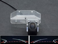Trajectory Tracks Fisheye Lens Car Rear view Camera For Mazda RX 8 2004 2005 2006 2007 2008 2009 2010 2011 Mazda 6 2009 2014