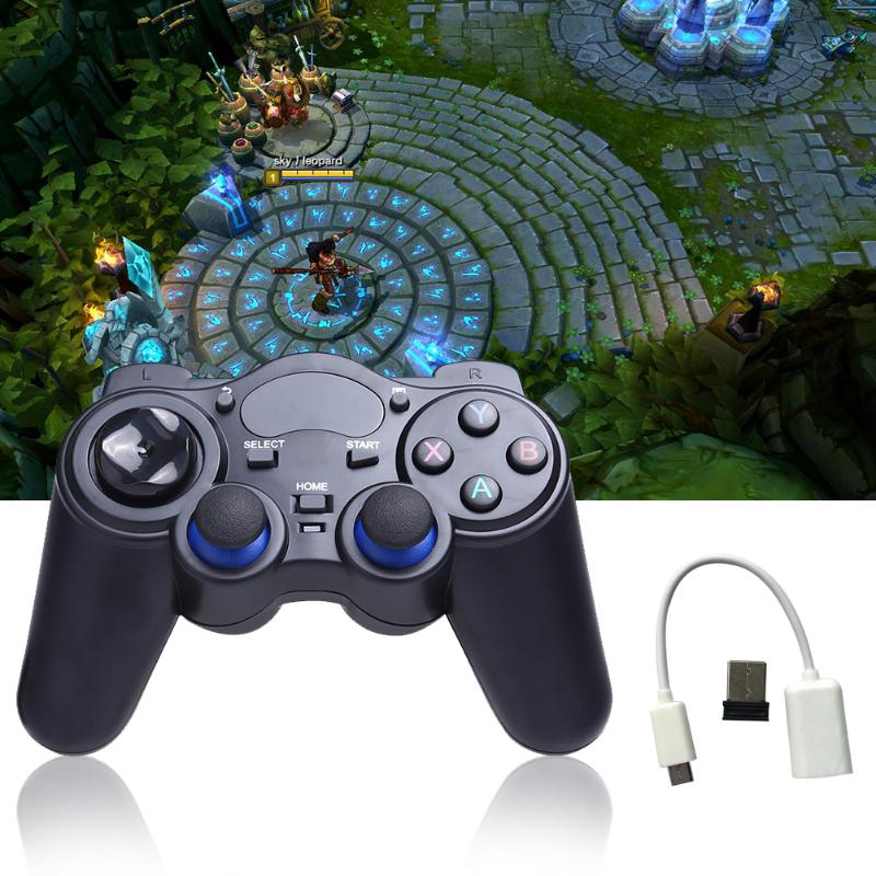 Universal 2.4G Wireless Game Gamepad Joystick Anti-sweat Anti-slip Game Player for Android TV Box Tablets PC L3FE