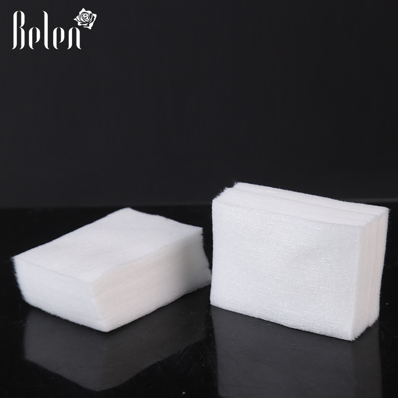 Belen 200pcs/lot t Nail Tools Nail Polish Remover Wipe Nail Art Tips Manicure Nail Clean Wipes Cotton Lint Pads Paper For UV gel