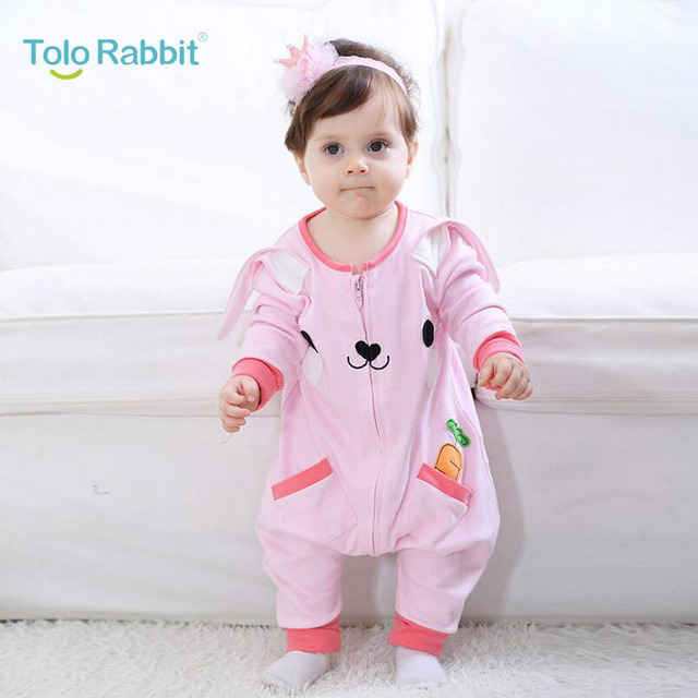 0 2 Years Old Baby Girl Clothing Cotton Infant Jumpsuits Baby Girl