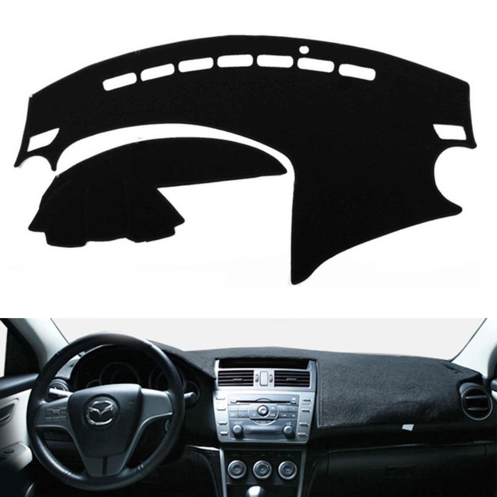 Salusy Black Dashboard Dash Protector Dash Mat Sun Cover Pad Compatible with Toyota Camry 2007-2011