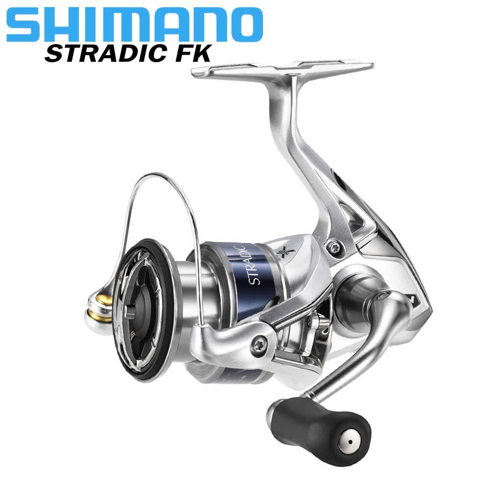 Carrete de pesca giratorio SHIMANO STRADIC FK 1000HG/2500HG/C3000HG/4000XG/5000XG 6 + 1BB AR-C carrete carrete de pesca de agua de mar 3-11 KG de potencia