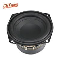 4 5 Inch 4OHM 50W Subwoofer Speaker Woofer 30 Core Voice Coil Wrinkled Cone Foam Side