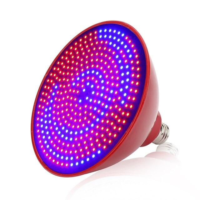352pcs SMD 40W E27 LED Grow Lights 255Red+97Blue Full Spectrum Grow Lamp  For Flowers