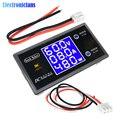 DC 0-100V 10A Digital Voltmeter Amperemeter Wattmeter LCD Display Spannung Strom Power Meter Volt Detector Regler