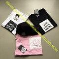 2017 Nova Hip Hop Kanye West Yeezy Preto/Branco/Rosa Moda T camisa Roupas de Marca Anti Social clube Assc Tee