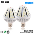 Freeshipping high quality led pyramid corn bulb light 60w for 175w street light replacement CE ROHS ETL 3 years warranty