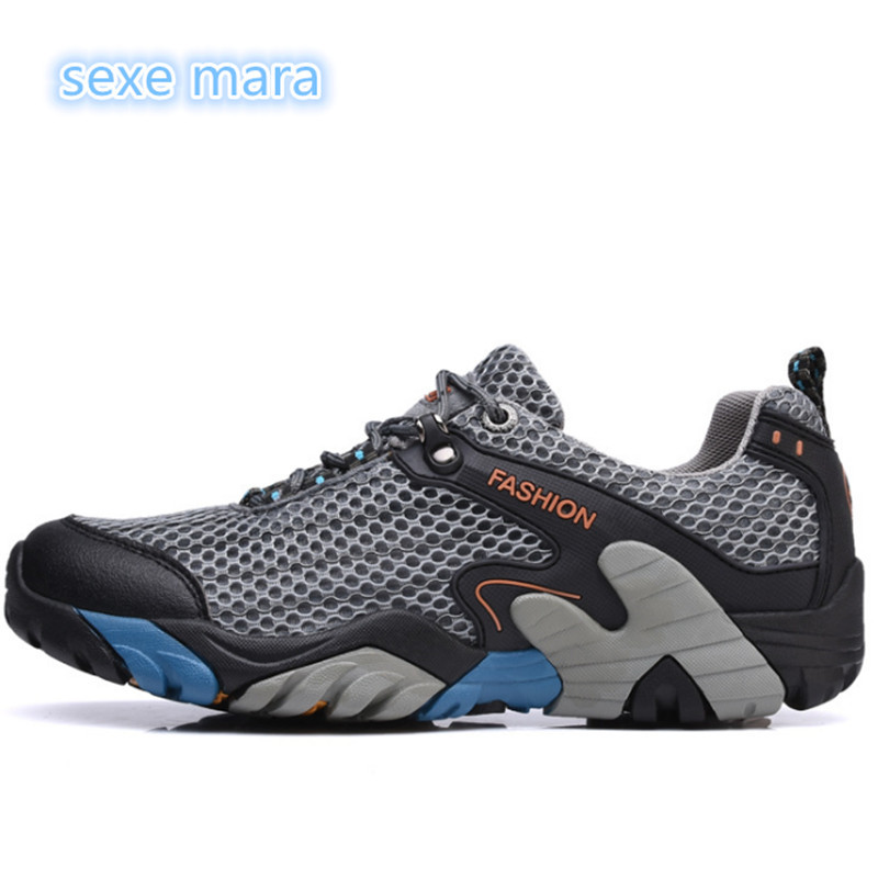 4b625ec9fe1b Outdoor Sport Shoes Men Sneakers Women shoes Running Shoes for men Brand  Anti-skid Off-road Jogging Walking Trainers size 38-46