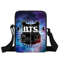 KPOP BTS EXO Got7 Messenger Bag Women Handbag Bangtan Boys Small Shoulder Bag Teenage Hip Hop Crossbody Bags Gift Bookbag