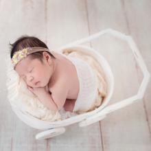 купить Wooden Stroller Newborn Photography Props Baby studio Photo Posing Baby Photography Props Wood Accessories Infant Studio Shoot в интернет-магазине