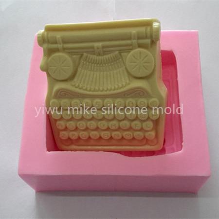 factory shop ,telephone design cake or soap silicone fondant ,bake tools mk-986
