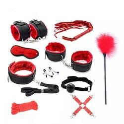 Сексуальный комплект нижнего белья, секс наручники, БДСМ, бондаж, эротические костюмы, женский костюм, эротическое белье, интимные товары, Б... 1