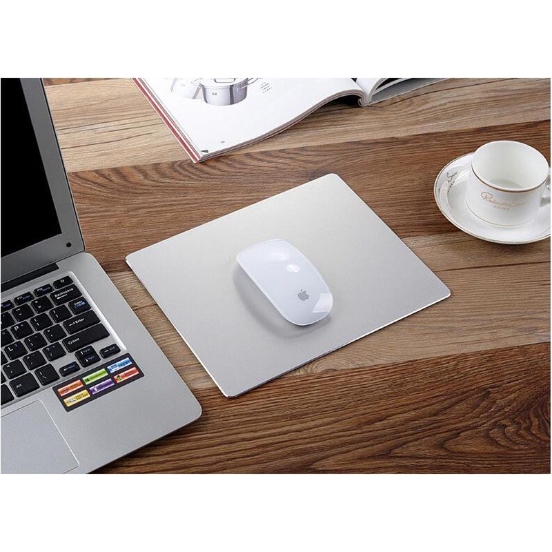 Free shipping Game custom mouse pad aluminum metal mouse pad For LOL mouse pad green mouse pad Jietu who 240*180mm