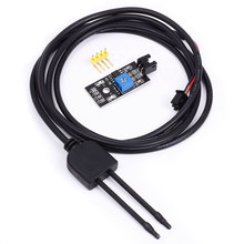 2019 Soil Humidity Hygrometer Module Moisture Detection Sensor with Corrosion Resistance Probe #2(China)