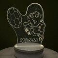 3d lamp table lamp desk lamp USB light  Acrylic Led night light creative  Messi lamp Josen brand