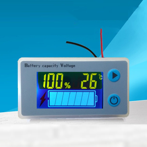 Image 3 - 3S 4S 6S 7S Lithium Battery Capacity Indicator Power LCD Display Temperature Sensor Alarm 12V 16.8V 29.4V Lipo Meter JS C33