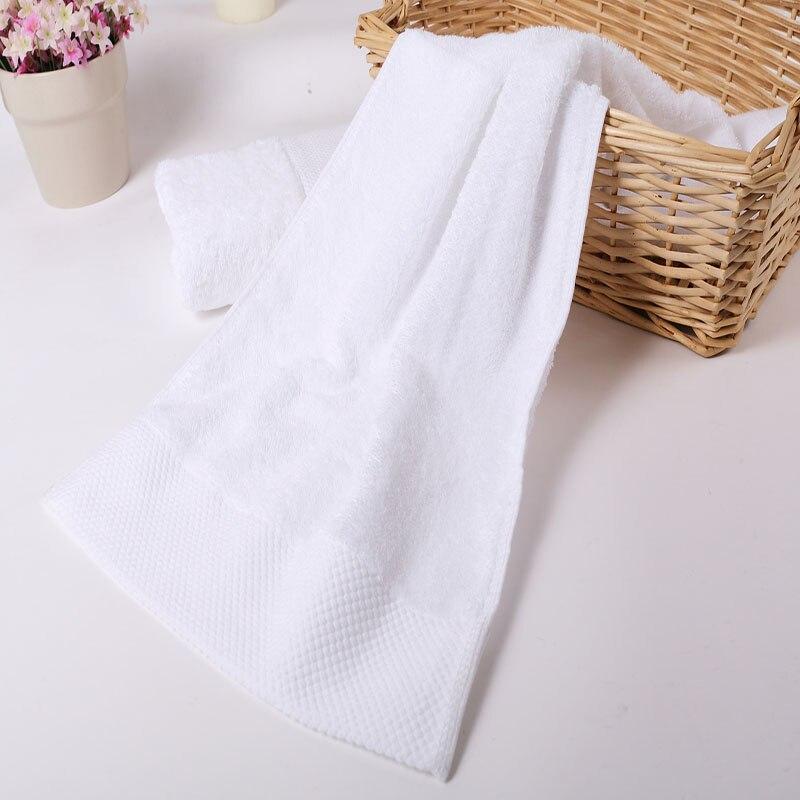 LOVRTRAVEL Pakistan Cotton Luxury Bath Towels Set Cotton Beach Terry Bath Towels for Adults White Serviette