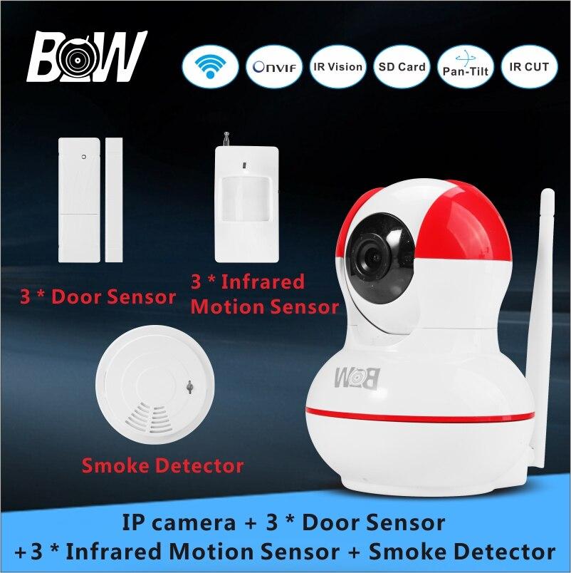 Security IP font b Camera b font 3 font b Door b font Sensor 3 PIR