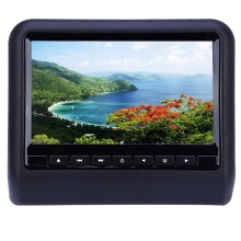 Portable 9 Inch Universal Car Headrest DVD Player with 800 x 480 LCD Screen