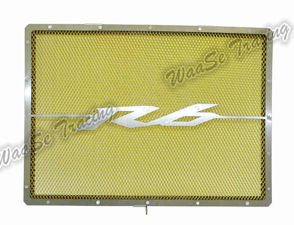 Waase радиатор Защитная крышка гриль защитная решетка протектор для Yamaha YZF R6 2006 2007 2008 2009 2010 2011 2012 2013 2014-2016