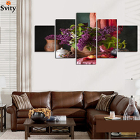 HOME BEAUTY Diy Print Oil Painting On Canvas Wall Home Decoration Spray Paint Unique Gift Craft