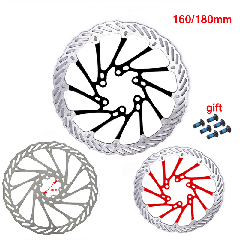 160/<font><b>180mm</b></font> Mountain Bike Brakes Disc MTB Bicycle Stainless Steel Disc Brake <font><b>Rotor</b></font> 6 Bolts Bike Accessories Fit <font><b>Shimano</b></font> Sram image