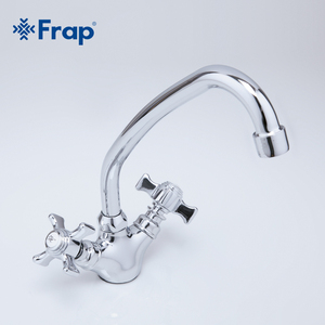 Image 5 - FRAP dargento del Bicromato di Potassio flessibile rubinetto della cucina lavello rubinetto di acqua potabile filtro rubinetti miscelatore della cucina calda e fredda miscelatore 360 Gradi f4124