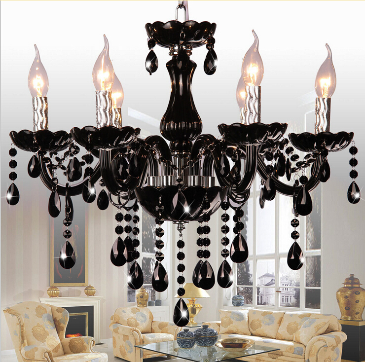 fast shipping wholesale price modern black chandelier lamp with e14 lamps sy30336l d570mm h600mm black chandelier lighting