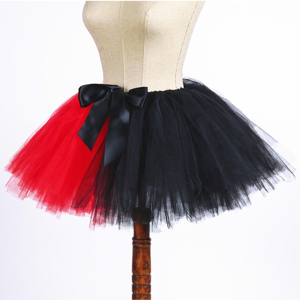 458ef902e Lady Girl Joker Family Cosplay Tutu Skirt Fluffy Women Adult Mother and  Daughter Halloween Evening Party ...