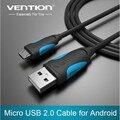 Vention Кабель Micro Usb 1 m 1.5 m 2 m 3 m черный Быстрая Зарядка линия для Android Мобильный Телефон Синхронизации Данных Кабель Зарядного Устройства Для Samsung HTC