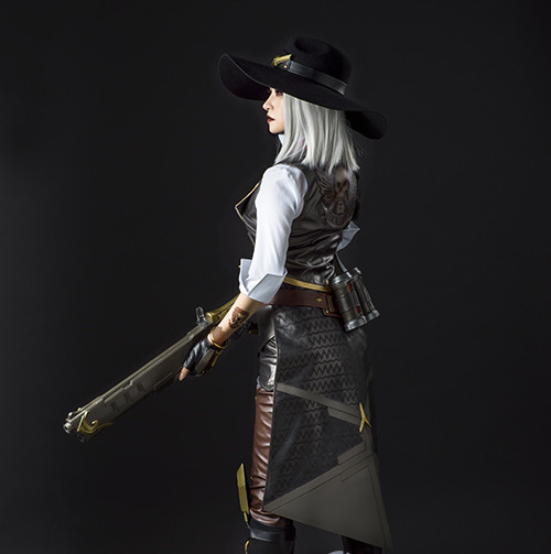 Ashe game cosplay costume ashe Full Set High quality private custom made with armors 2