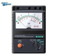 KYORITSU 3123A High Voltage Insulation Tester 10000V 10KV Analogue High Voltage Insulation Tester S 25V/50V/100V