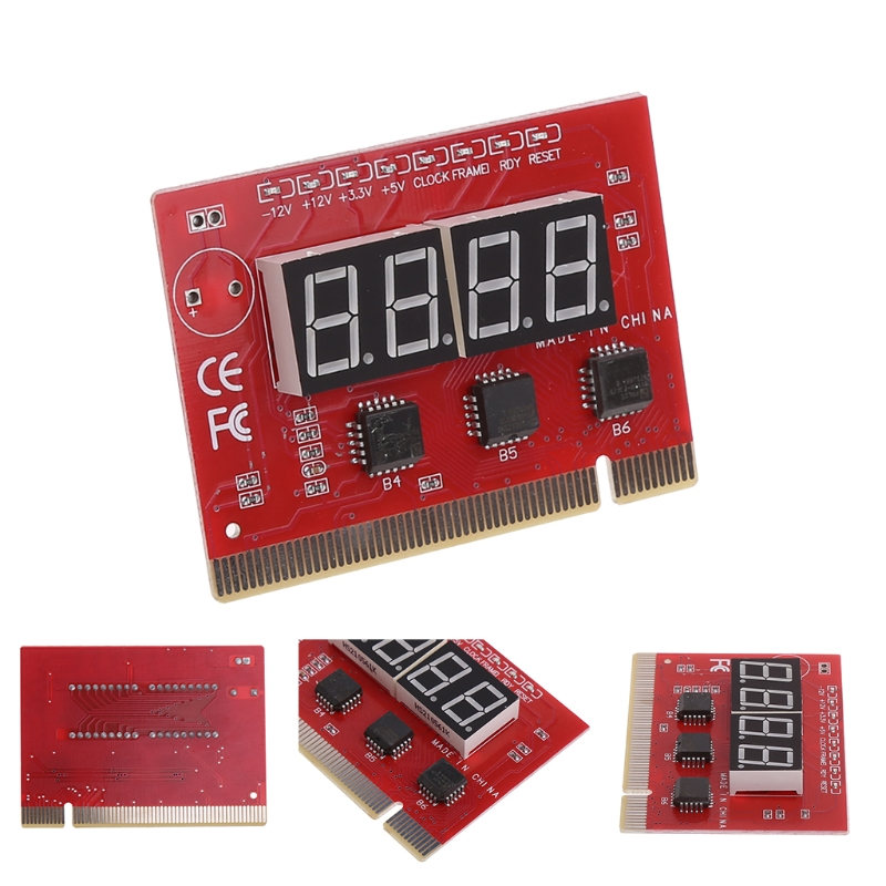 High Quality Computer Motherboard LED 4 Digit Analysis Diagnostic Test POST Card PCI