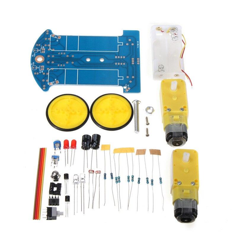 Nuevos Componentes Eléctricos D2-1 de Seguimiento de Coche Inteligente Robot Car