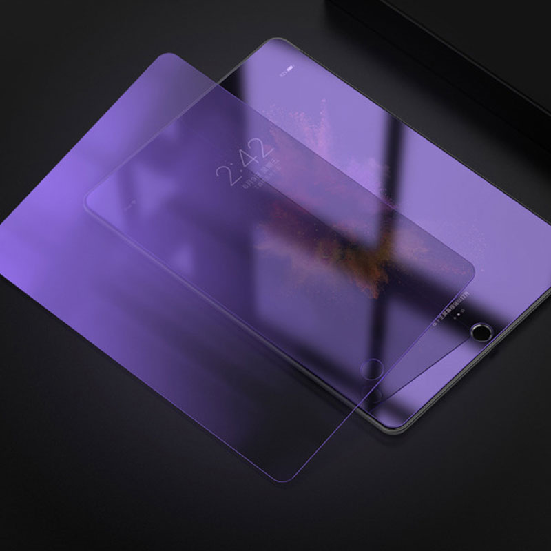 For ipad 6 air 2 Thoughened Tempered Glass Screen Protector Film For iPad air 2 Anti blue violet Ray 9H Front full Screen Films|for ipad air|ipad air glass film|ipad air 2 film - title=