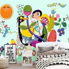 3D home decor custom wallpaper high quality stereo wall mural modern abstract ki