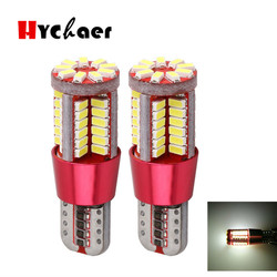 10pcs T10 led 168 w5w super bright 57 SMD 3014 LED 57smd CANBUS NO Error Auto Wedge marker Light bulb Car Clearance lamp 12V