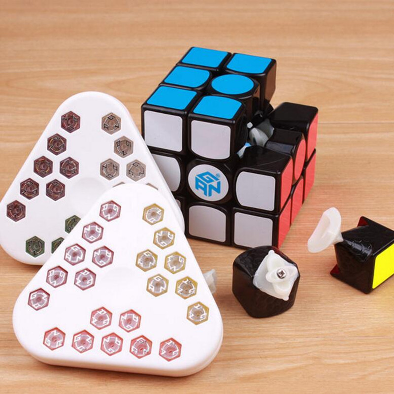 New GAN 356 Air SM With Magnets Puzzle Magic Speed Cube Professional Gans cubo Magico Gan356 AirSM Version Toys Free shipping цена
