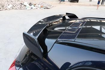 Koolstofvezel AUTO ACHTERVLEUGEL Kofferbak Lip Spoiler Wing Fit Voor Benz W176 EEN Klasse A180 A200 A260 A45 AMG 2013-2018 DOOR EMS