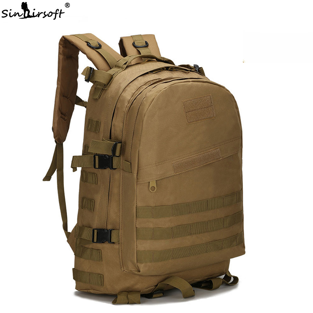 40L 3D Outdoor Sport Military Tactical climbing mountaineering Backpack Camping Hiking Trekking Rucksack Travel outdoor Bag цена