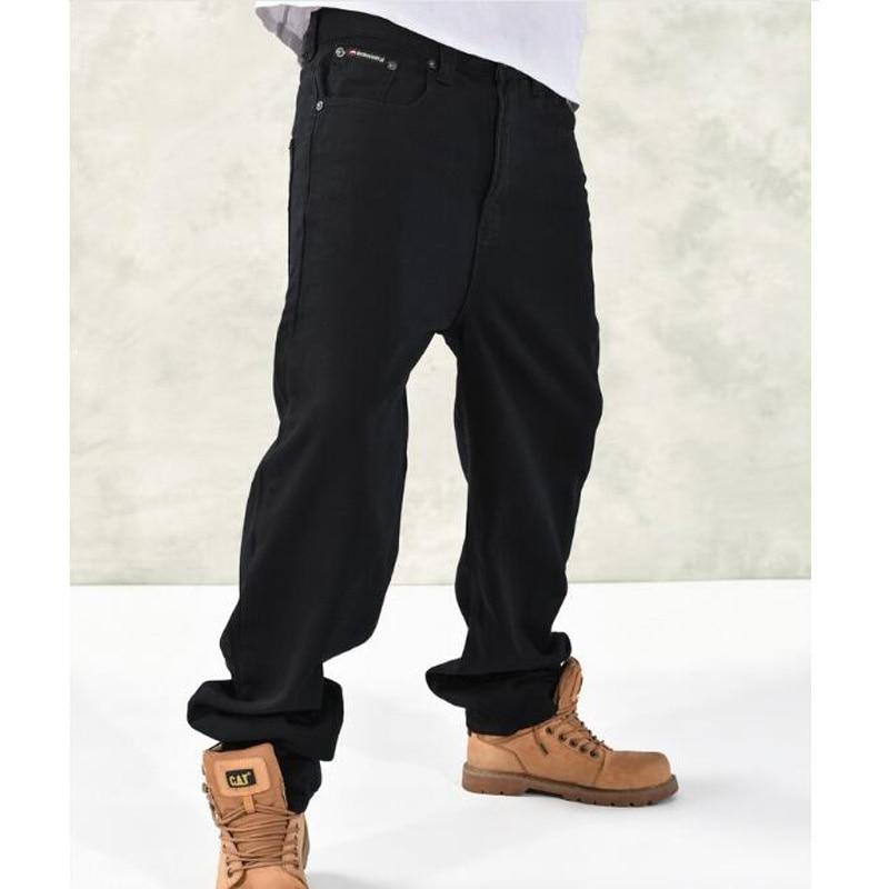 High quality Man loose pants HIP HOP Skateboard Pants Men's  Fashion  trousers Size 30-46