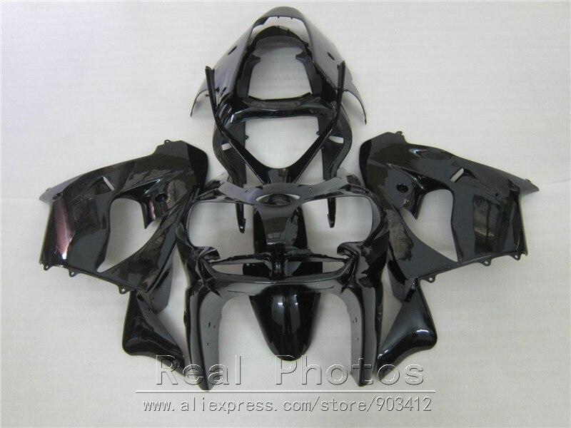 Kit de carenado de motocicleta para Kawasaki Ninja ZX9R 2000 2001 carenado negro brillante ZX9R 00 01 OY06
