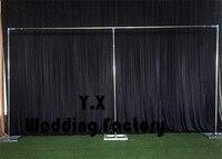 10ft 20ft Длинные свадебные фон стент для свадьбы фон стенд Бесплатная доставка
