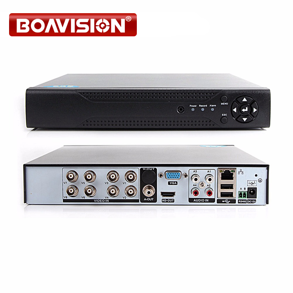 1080P 4CH 8CH AHD DVR Recorder 5 IN 1 Hybrid DVR 8 Channel AHD TVI CVI